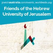 AUSTRALIAN FRIENDS OF THE HEBREW UNIVERSITY