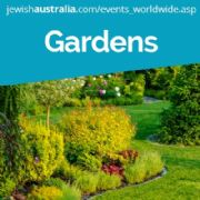 JERUSALEM BOTANICAL GARDENS EVENTS