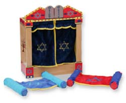 Wooden Torah Set