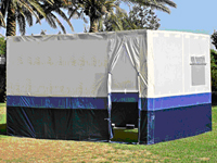 Sukkah Ready Made - Size 3:  3x3 Metres