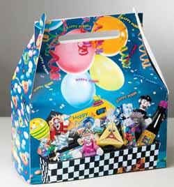 Mishloach Manot Small Happy Purim Gift Box