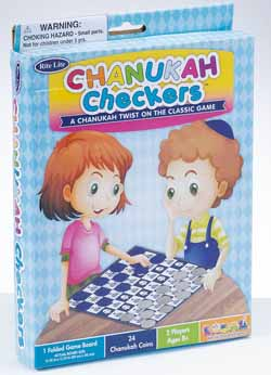 Chanukah Checkers