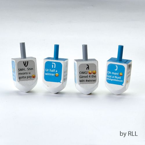 Chanukah Dreidels - Texting
