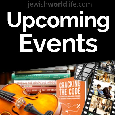 Events advertising on Jewish World Life.com