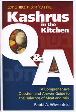 Kashrus in the Kitchen Q & A