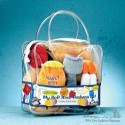 Plush Rosh Hashana Set in Vinyl Carrying Case - 8 Pcs