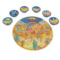Seder Plate Jerusalem - Emanuel Painted