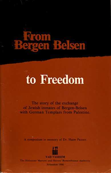 From Bergen Belsen to Freedom