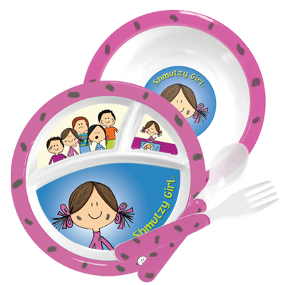 Shmutzy Girl Plate set
